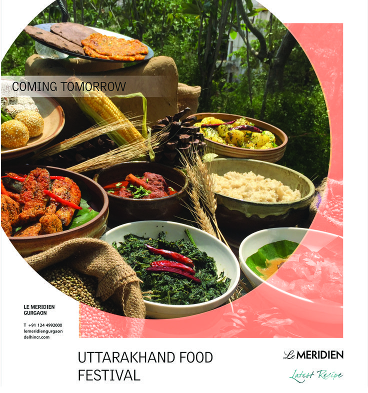 Le Meridien Gurgaon brings to you a culinary treat from the hills of Uttarakhand starting tomorrow. The ingredients chiefly available there are being used to prepare the special dishes that are unique in their own right. So come and discover this gastronomic destination!  Timing: 7 PM until midnight Contact details: +91 8860609395 Food Festival will be a part of the dinner buffet at INR 1999 plus taxes per person http://bit.ly/2p50IRm  #LMGurgaon #LatestRecipe