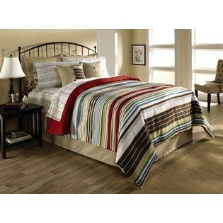 Cannon- -Variegated Stripe Comforter