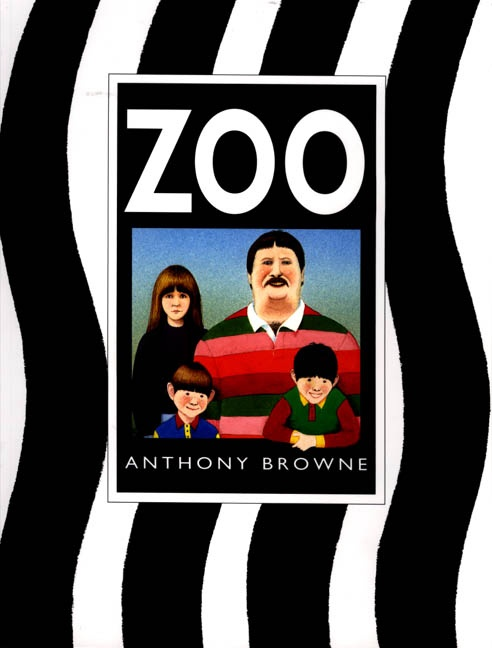 Zoo by Anthony Browne. Links: Family, guided reading. Age: 6+ Description: Dad, mum and two brothers spend a day at the zoo, looking at the animals in the cages - or is it the animals that are looking at them? Full of hidden clues for children to hunt, this is one of my favourite Anthony Browne books.