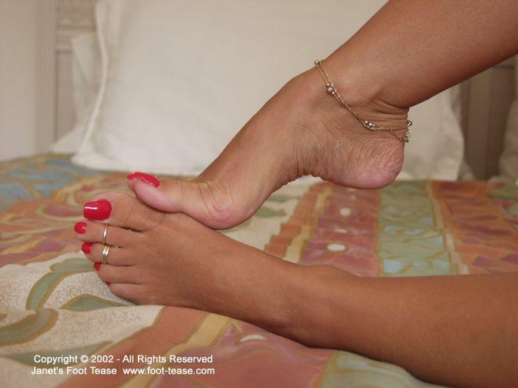 janet mason feet