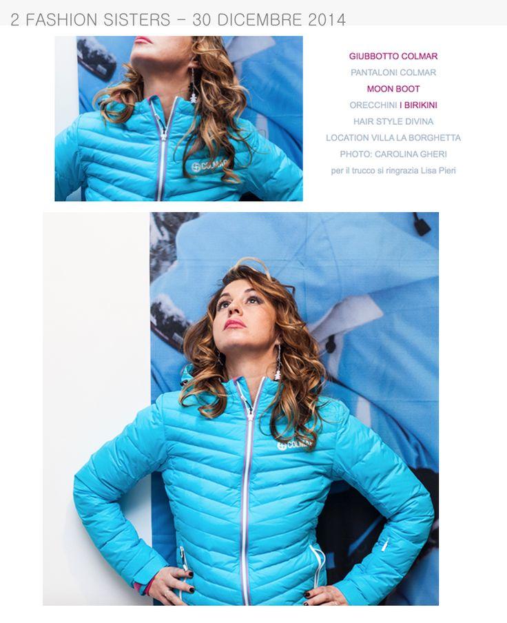 2 Fashion Sisters del 30 Dicembre 2014 parlano degli orecchini del brand Birikini www.ibirikini.com - info@ibirikini.com