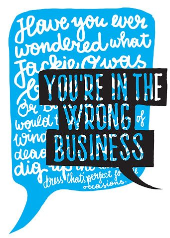 hand lettering: Books Covers, Hands Written, Thoughts Bubbles, Covers Books, Hands Letters, Wrong Business, Poster, Graphics Design, Colors Schemes