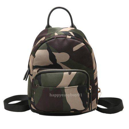 Clothing Cute Mini Backpacks Camouflage Backpack Camo Backpack