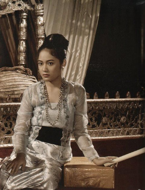 Myanmar Dress styles in colonial Era