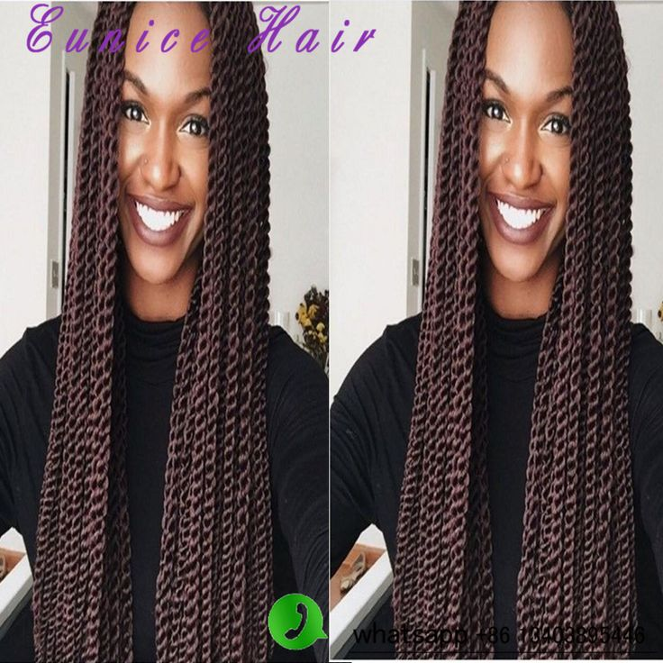 Senegalese Twist Hair Crotchet Braids 22inch 100g/pack Synthetic