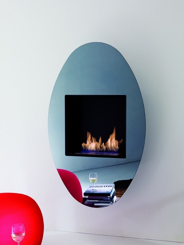 ethanol fireplace divine design. bioethanol wall-mounted crystal #fireplace ovo by ozzio design | #design designdivision, ethanol fireplace divine