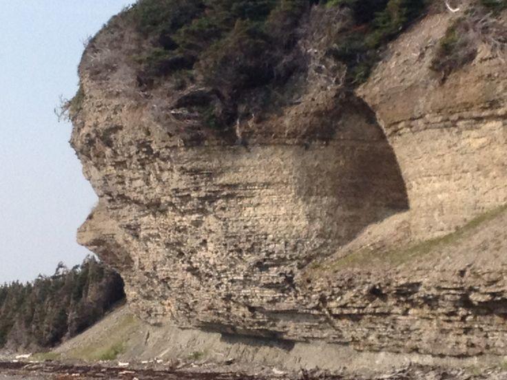 Cap de roche ile Anticosti