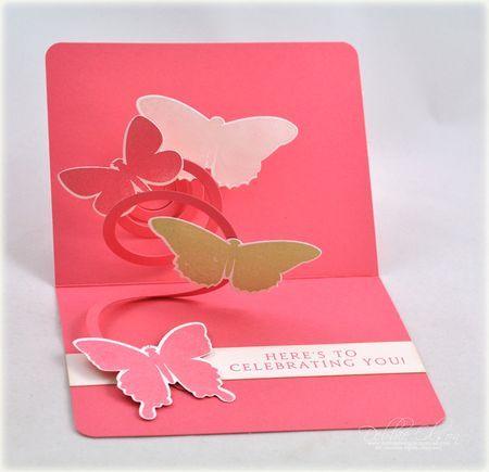 Inside the card idea