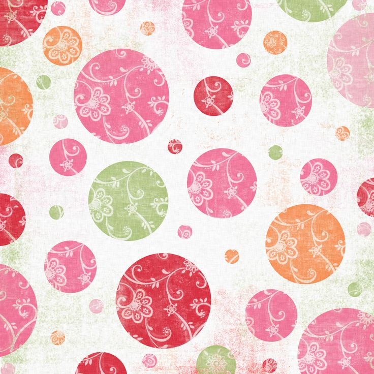 spring bubbles background
