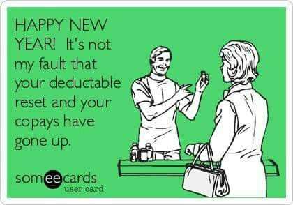 Pharmacy Happy New Year Humor
