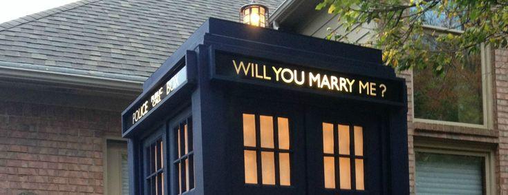 La plus belle des demandes en mariage selon moi