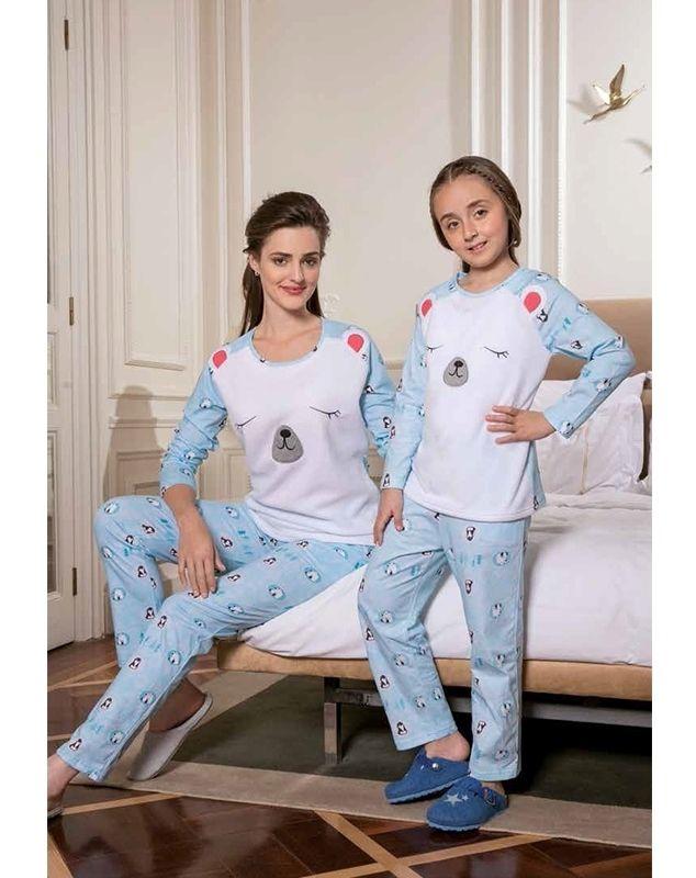 Yeni İnci BPJ 1022 Bayan Pijama Takım #BayanPijama #OnlineBayanPijama #2017BayanPijama #BayanGiyim #EvGiyimi #KışlıkBayanPijama #YeniSezon #Sonbahar #markhacom #PolarPijama #AnneKızKombin