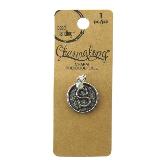 Charmalong™ S Letter Charm by Bead Landing™