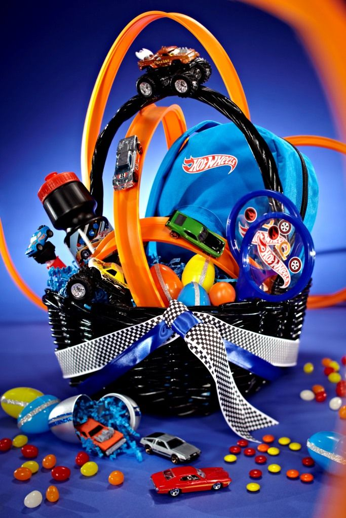 45 best imaginative gift giving images on pinterest hot wheels at 10 fun and creative homemade easter basket ideas cars basket perfect for o negle Choice Image
