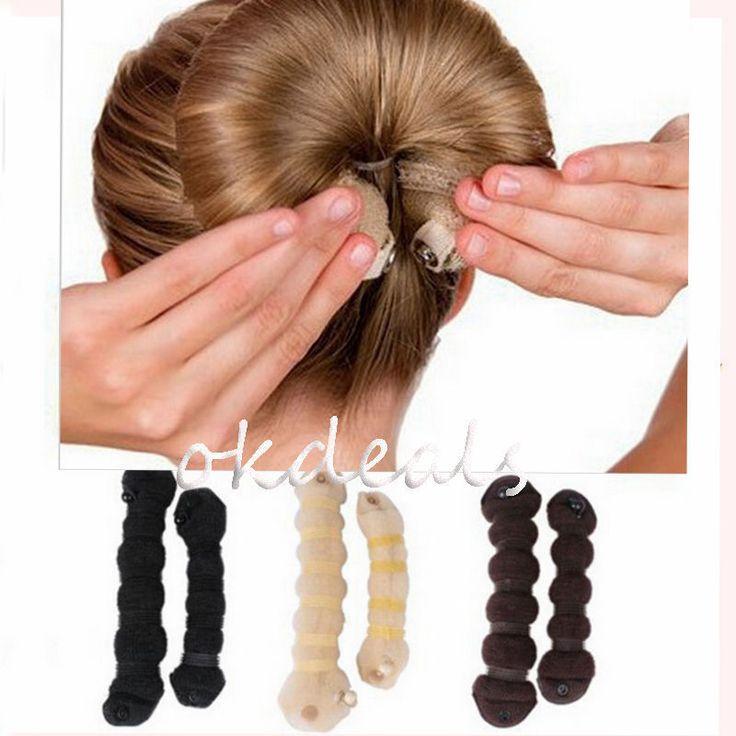 1.41€ Las mujeres de La Muchacha Mágica Estilo Braiders Rizador Herramientas de Peinado Del Cabello Bollos Headwear Cuerda de Pelo Banda de Pelo Accesorios en Accesorios Para el cabello de Ropa y Accesorios de las mujeres en AliExpress.com | Alibaba Group