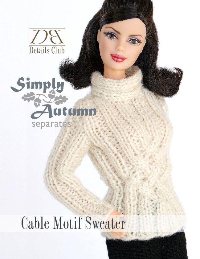 53 Best Barbie Doll Knitting Patterns By Daniel Bingham Designs
