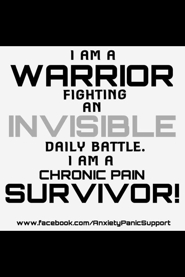 Chronic pain survivor     rheumatoid arthritis