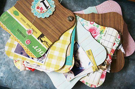 mini album tutorial, CP Emma's Shoppe: Crafts Ideas, Paintings Chips Cards, Minis Album, Cards Scrapbook, Birthday Cards, Minis Scrapbook, Scrapbook Minialbum, Crates Paper, Fans Ideas