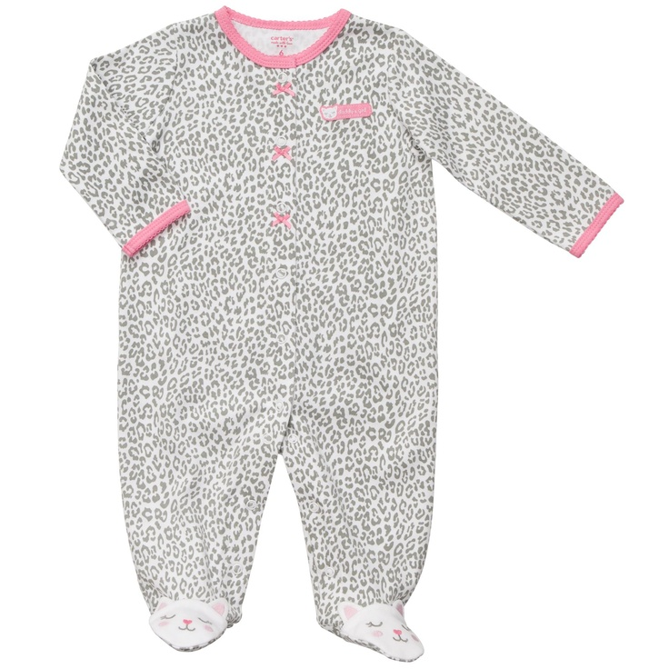 Cotton Snap-Up Sleep & Play | Baby Girl One Pieces