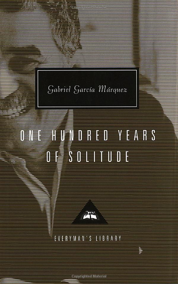 """""""One Hundred Years of Solitude"""" by Gabriel Garcia Marquez, 1967; German: """"Hundert Jahre Einsamkeit""""; original title (Spanish): """"Cien años de soledad"""""""