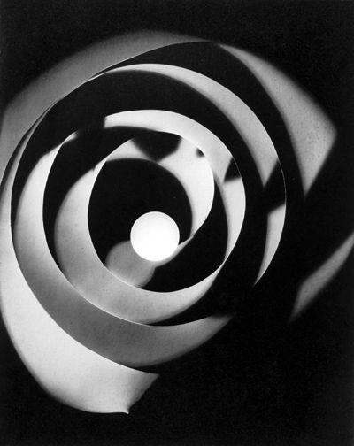 MAN RAY Rayograph, 1926 print ca. 1963  Gelatin silver print