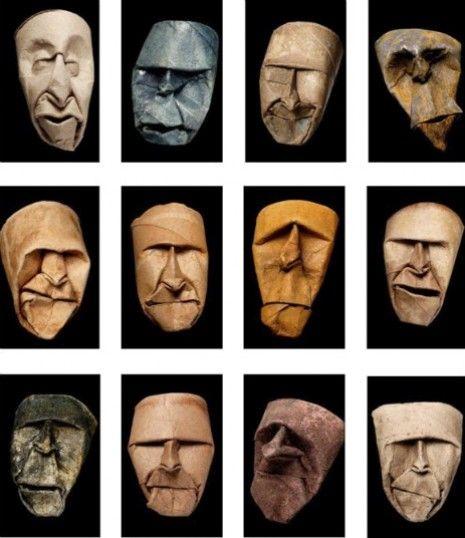 Toilet paper tube faces