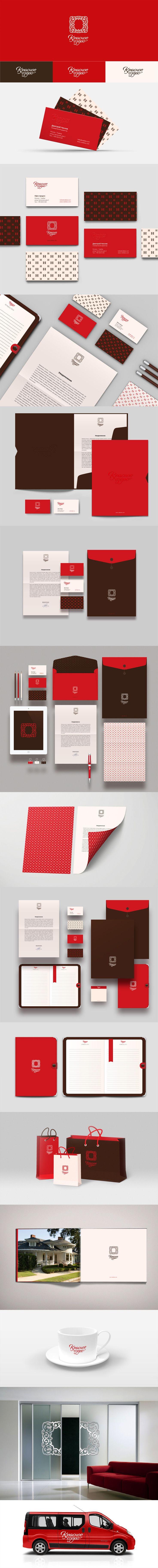 RedLake #identity #packaging #branding #marketing PD
