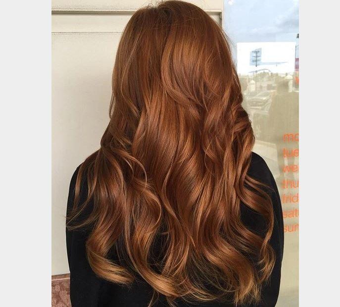 2017 Bakır Kahverengi Saç Renkleri