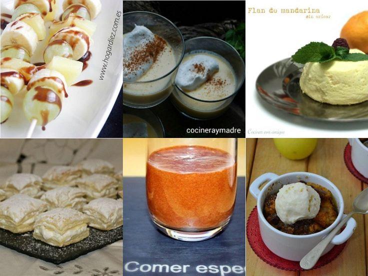 6 postres fáciles y económicos | Cocinar en casa es facilisimo.com
