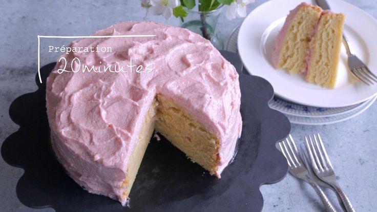 Gâteau d'anniversaire sans œufs ni produits laitiers
