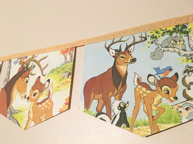BAMBI friends of the forest little golden book banner bunting garland baby shower disney nursery decoration baby girl forest deer theme wood by storybookbanners on Etsy https://www.etsy.com/listing/503542900/bambi-friends-of-the-forest-little
