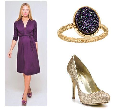 beaucute.com purple maternity dress (29) #maternitydresses