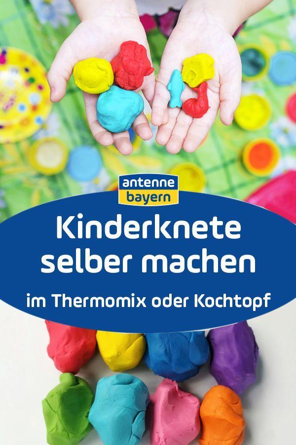 Bastelideen Kinderknete Selber Machen Kinderknete Fingerfarbe