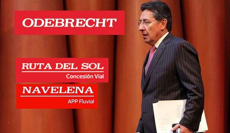 Ejecutivos de Odebrecht habrían ocultado contrato para proteger al fiscal Néstor Humberto Martínez