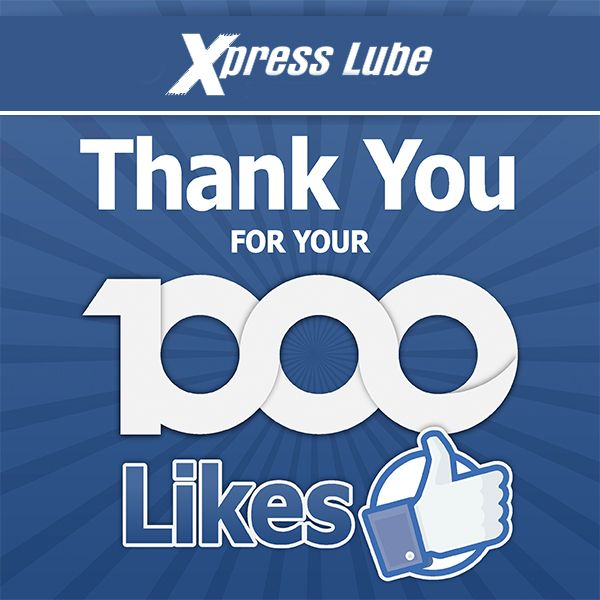 We have reached 1000+ Facebook likes! A big THANK YOU goes out to each and every one of you for your support!
