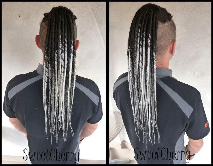 Pose de dreads bicolores