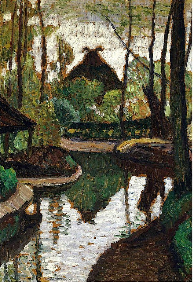 Otto Modersohn (1865-1943) Frühling an der Wümme