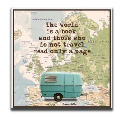 Travel - mini lerret