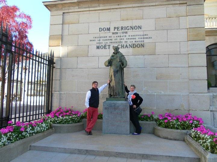 Dom Perignon, Champagne region France