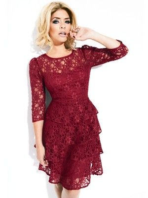 Holly Willoughby Tiered Lace Dress, http://www.very.co.uk/holly-willoughby-tiered-lace-dress/1270833032.prd