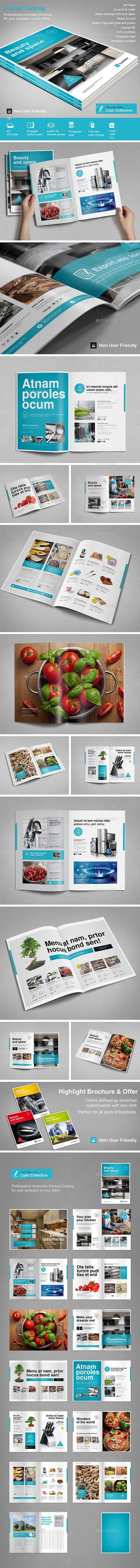 Product Catalog Template #design Download: http://graphicriver.net/item/product-catalog/11493013?ref=ksioks