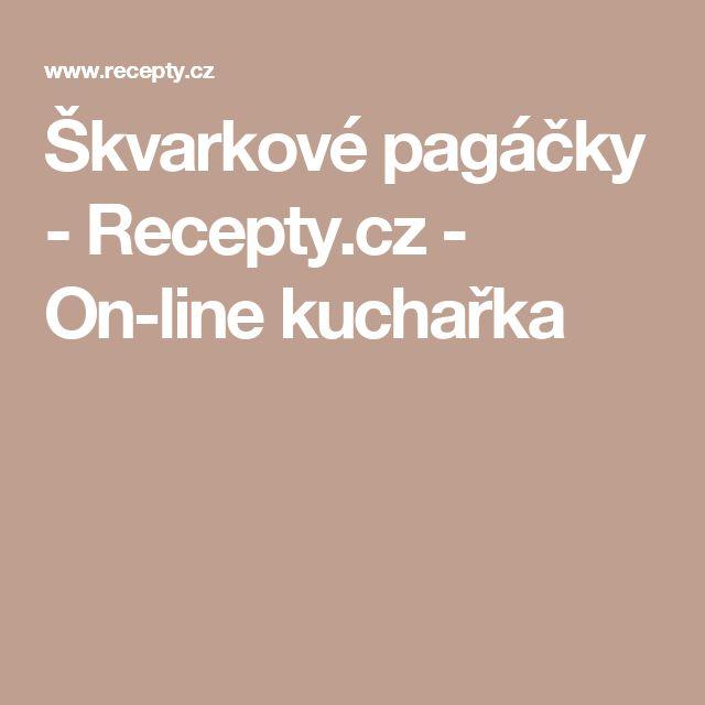 Škvarkové pagáčky - Recepty.cz - On-line kuchařka