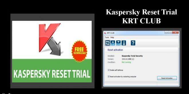 KRT Club 2 1 2 69 / 2 0 0 35 Kaspersky 2019, Kaspersky Reset