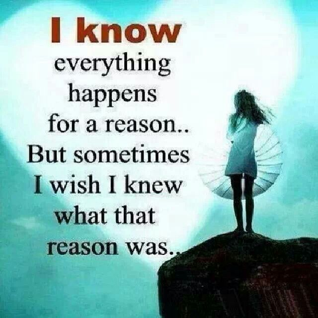 everything happens for a reason quotes and sayings