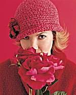 Crochet hat EASY instructions  Flowered Cloche