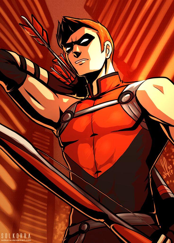 Red Arrow Fils adoptif de Arrow Entourage Green Arrow, Wonder Girl, Black Canary, Affiliation Ligue de justice d'Amérique, Outsiders, Teen Titans, Suicide Squad Alias Speedy, Roy Harper, Arsenal, Apparus dans Arrow Née en 1941