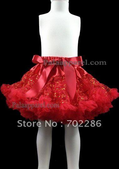 Красный шнурок девушки кружевные юбка красный блеск короткие юбки для Chirstmas день