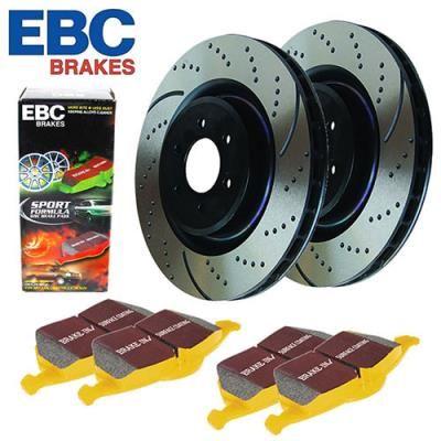 EBC Brakes EBC Brakes Stage 5 Superstreet Brake Kit - S5KF1151 S5KF1151 Disc Brake Pad and Rotor Kits: Stage 5… #TruckParts #JeepParts