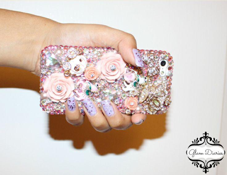 Case Design lux addiction phone case : Lux Addiction Princess Bling Rhinestone Phone Case Review : Glam ...