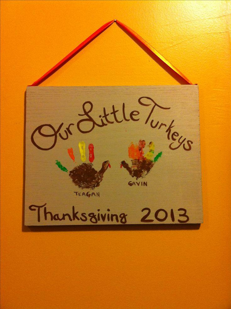 Turkey Handprints